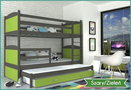 łóżko Piętrowe Matti 3 Mdf